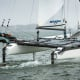 The full-foiling version of the Nacra 17 remains tweaky and a challenge to sail