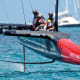 Oracle Team USA reveals one of its L-shaped daggerboards