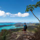 Whitsunday Peak offers hikers a stunning view