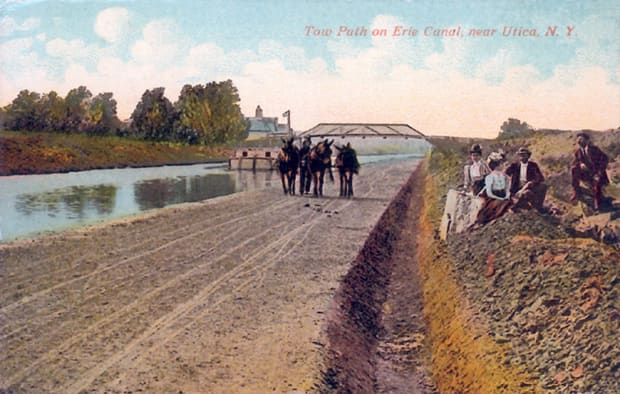 Erie-Canal-in-the-mule-days-2-300-dpi