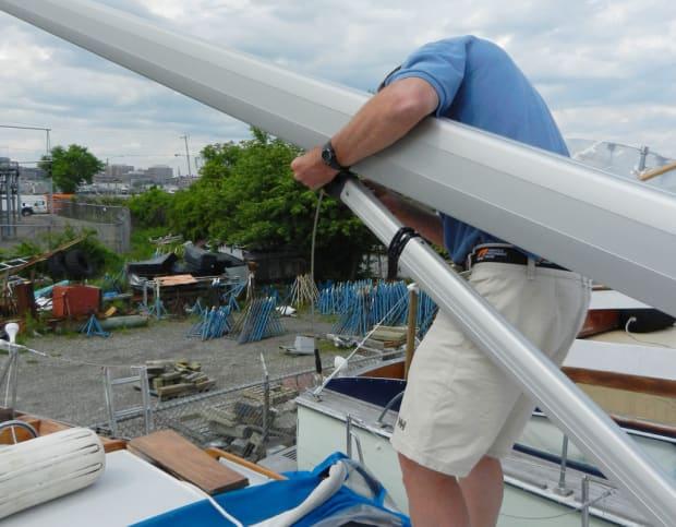 DIY: Install a New Boom - Sail Magazine