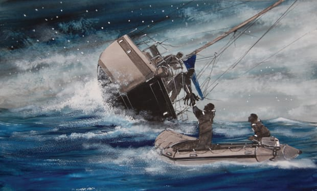 Shipwrecked on a Panama Canal Transit - Sail Magazine