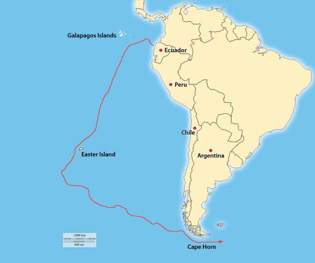 Jeff Hartjoy\'s Solo Circumnavigation: Cape Horn—part 2 ...
