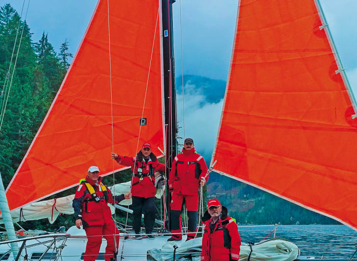 Five Sailors go in Search of Heavy Weather — and Find It