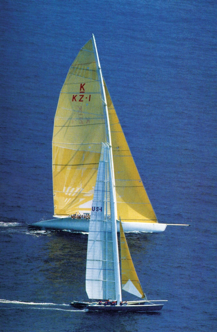 Multihull Designers Morrelli & Melvin, Foiling and Flying
