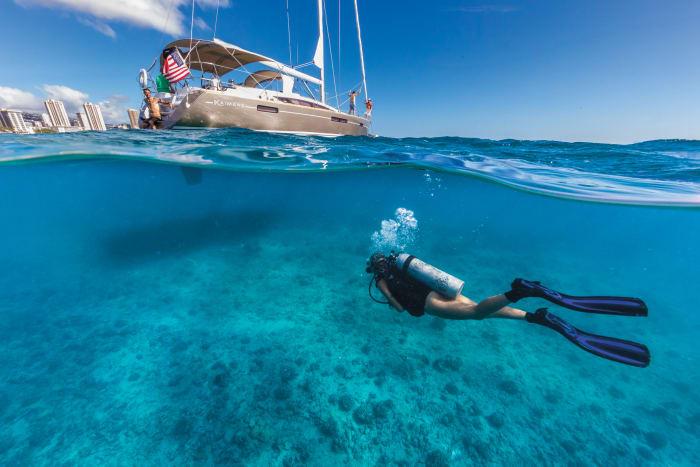 Cruising: Sailing and Scuba Diving
