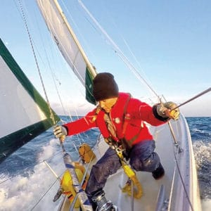 Sailing Couple gets into the Problem-solving Side of Sailing