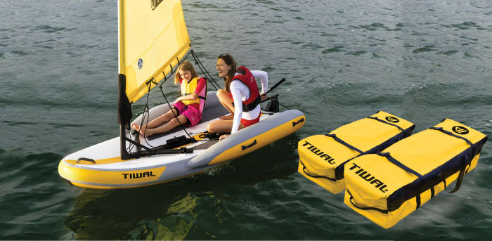 Gear: Tiwal Inflatable Sailing Dinghy