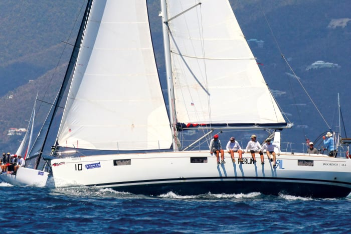 Racing and Bareboat Chartering in the BVI