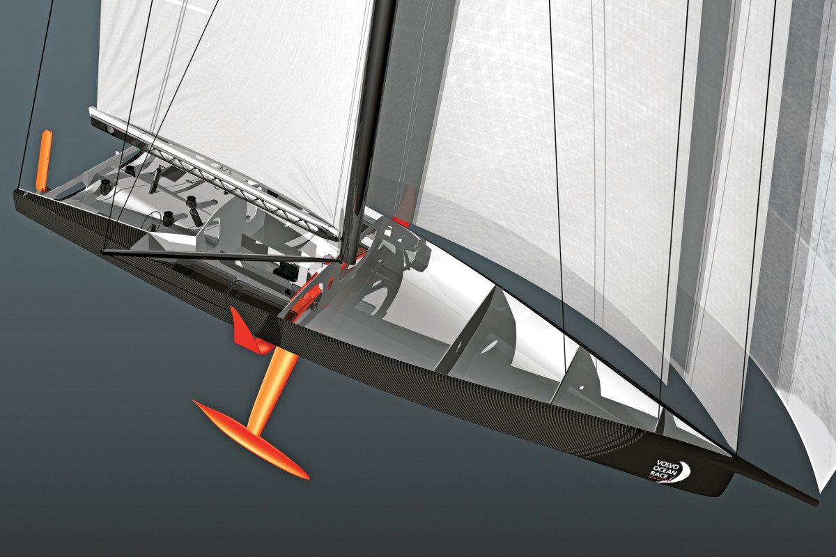The proposed new Volvo one-design will borrow heavily from the cutting-edge IMOCA 60 class