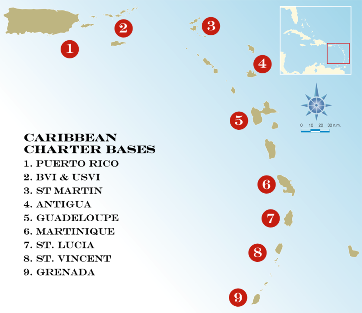 Chartering Off-season in the Caribbean - Sail Magazine