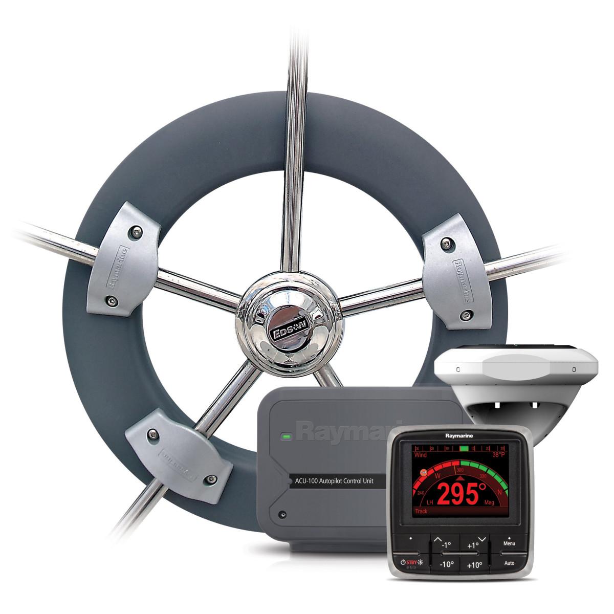 Gear: Raymarine EV-100 Wheelpilot - Sail Magazine