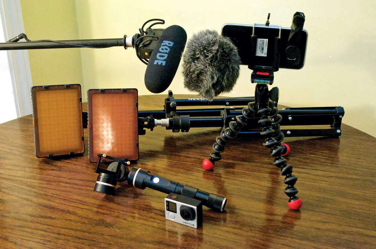 In order to capture high-quality sound and video, you need to own the proper gear