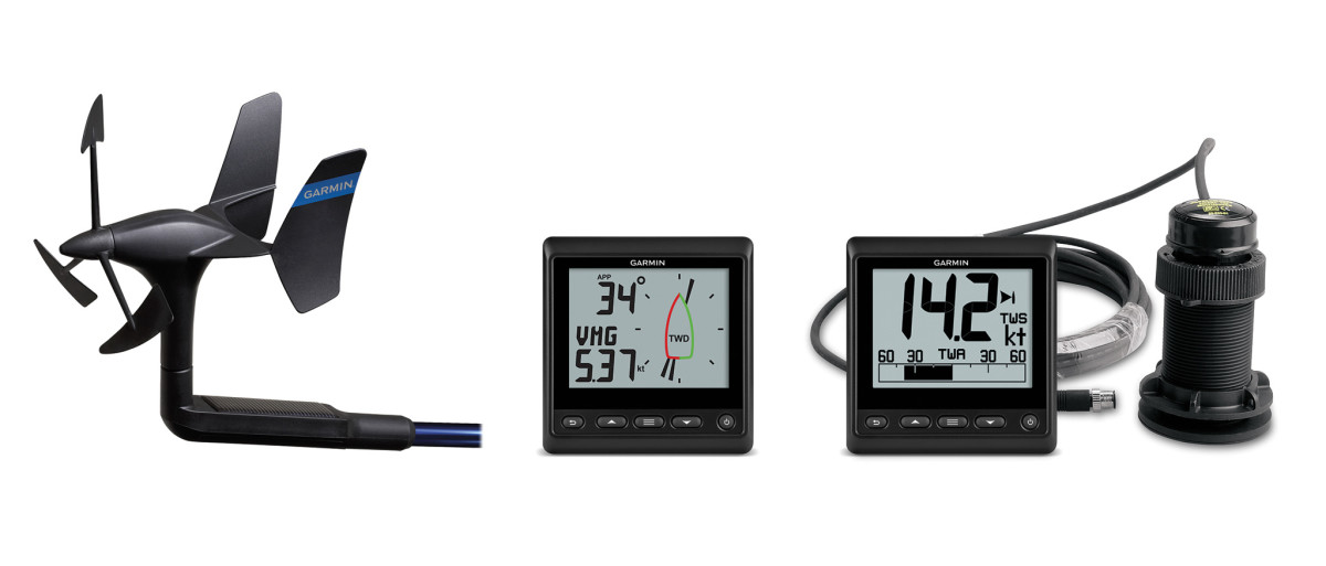 Garmin's GNX instruments are aimed at boats up to 40ft and are compatible with the company's chartplotters