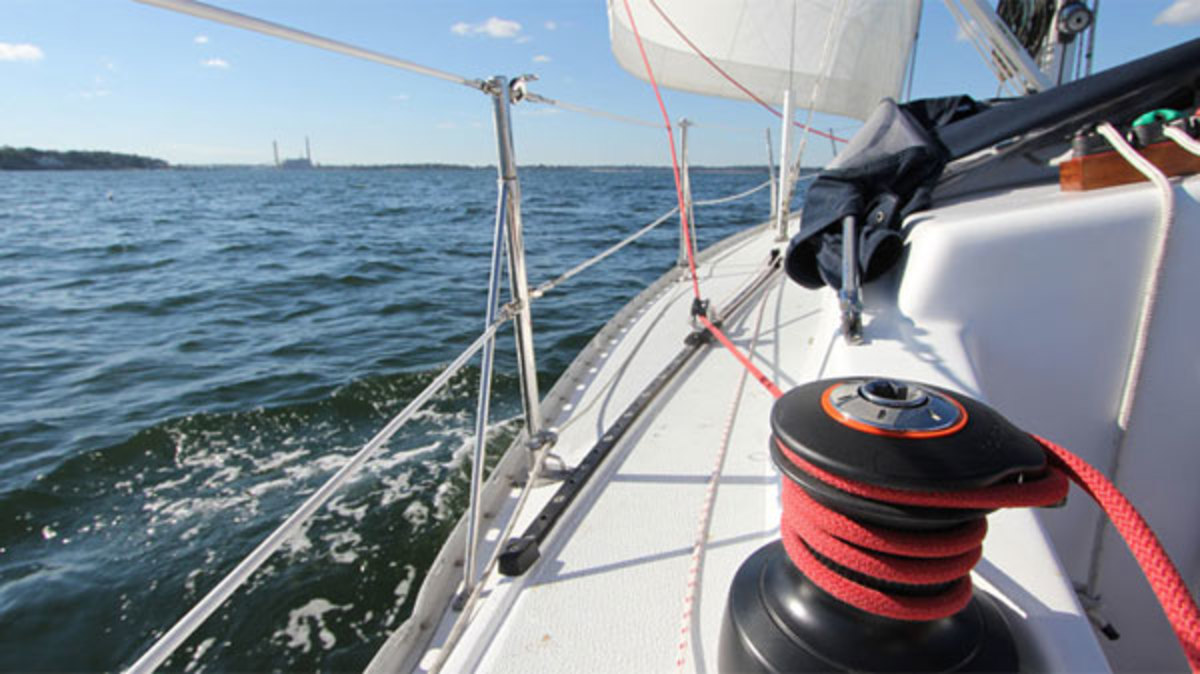 That's more like it! Towable genoa sheet cars allow you to fine tune headsail trim with ease