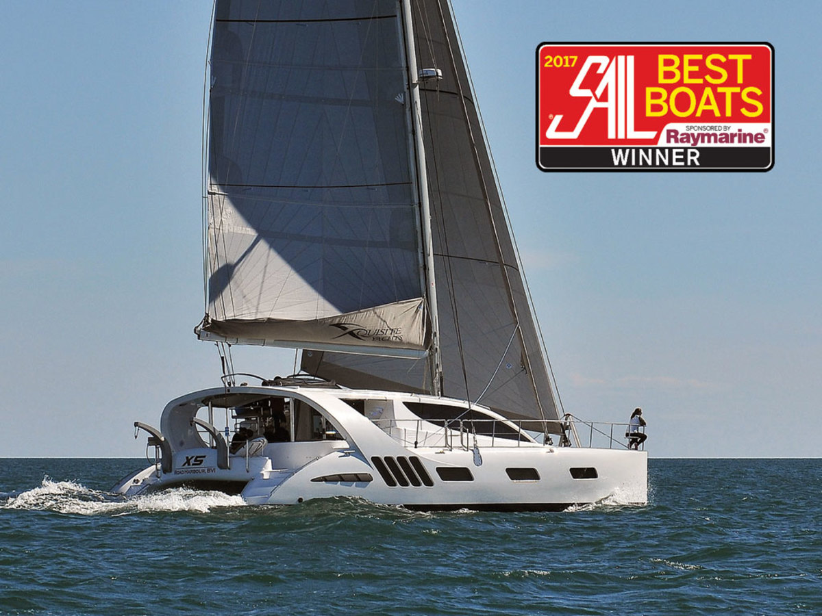 Xquisite X5: Best Large Multihull 50ft and above