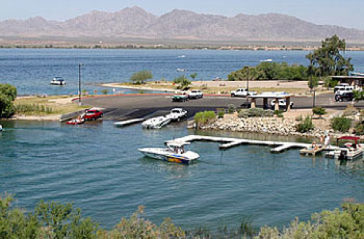 Lake Havasu boat launch. Photo courtesy of azstateparks.com