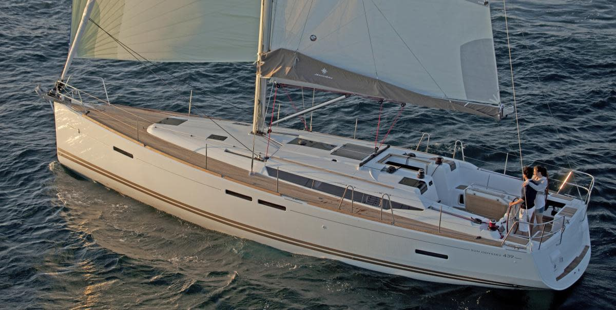 Boat Review: Jeanneau Sun Odyssey 439 - Sail Magazine