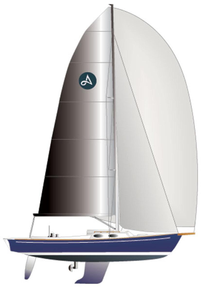 alerion-30-sailplan