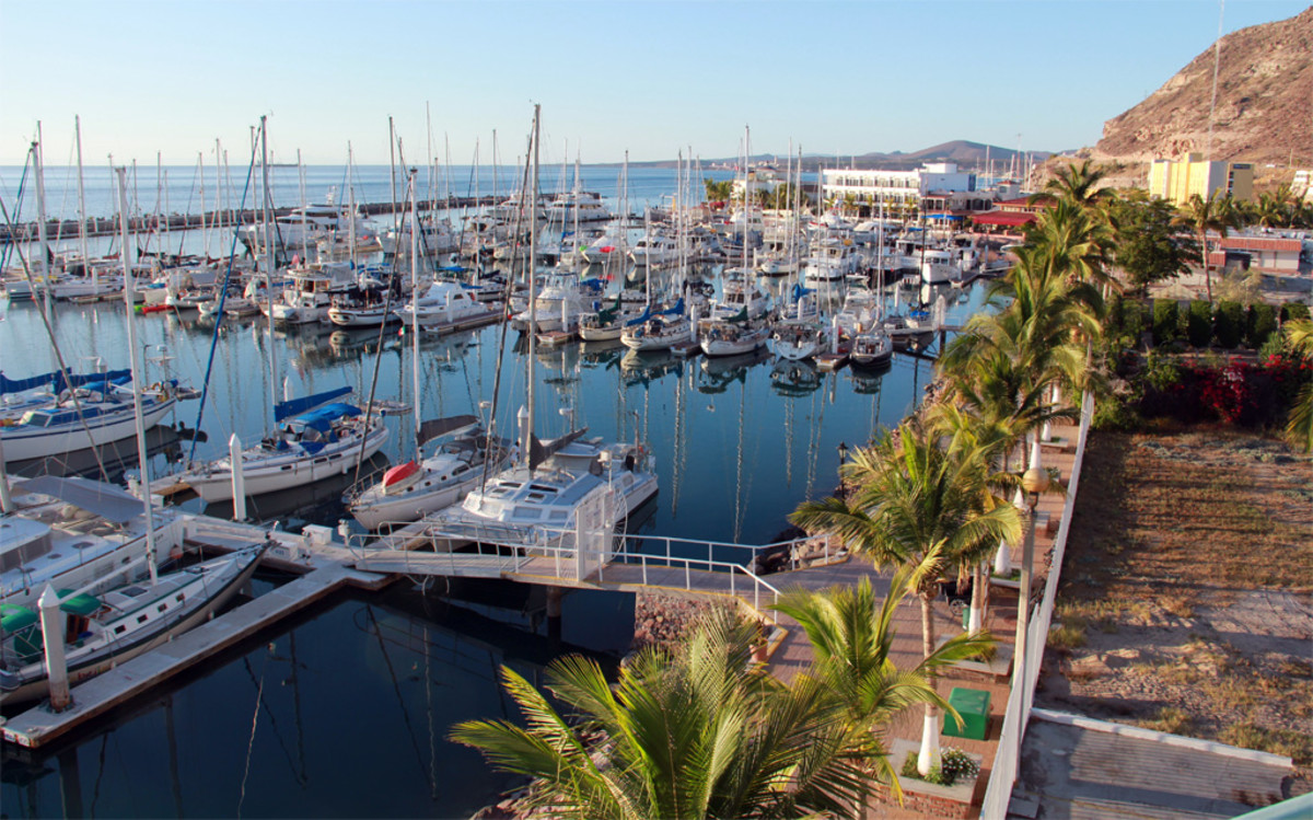Dream Yacht Charters' base is located in Marina Costa Baja in La Paz, a modern and well-appointed marina with great amenities for starting and ending your trip