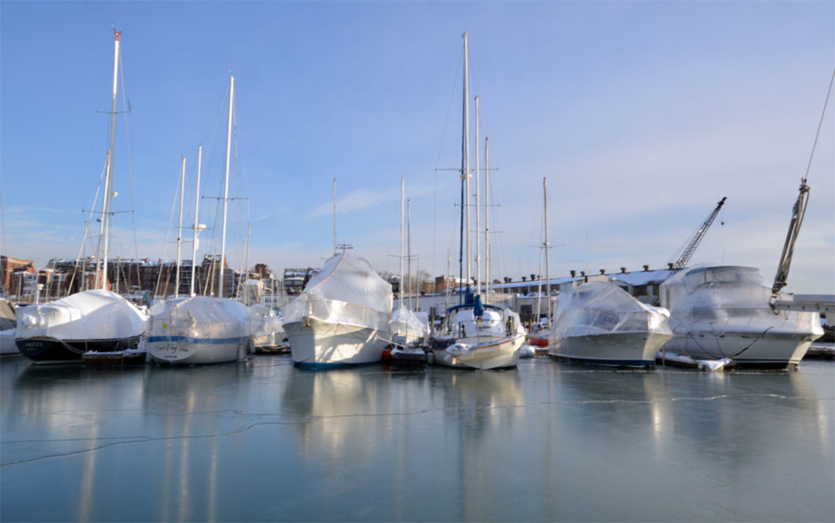 Surviving Winter Aboard - Sail Magazine