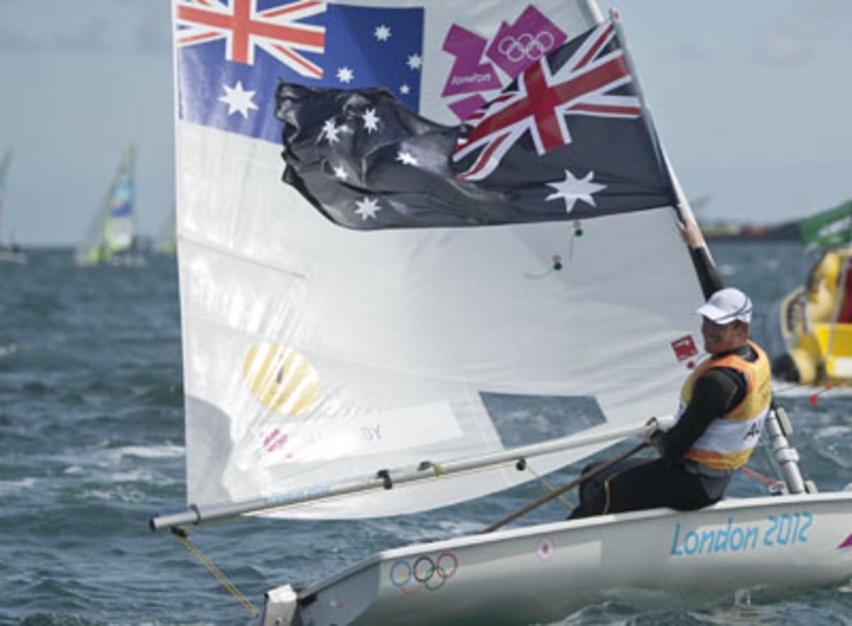 Australia's Tom Slingsby