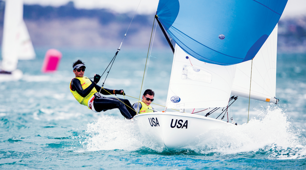 Rogers and Parkin make knots on their way to the gold medal