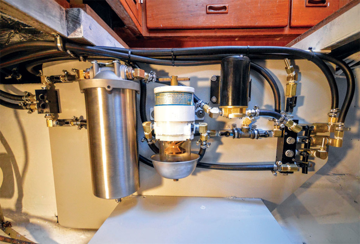 How To Put Together A Homegrown Fuel Filtering System Sail Magazine Re Filters Diesel