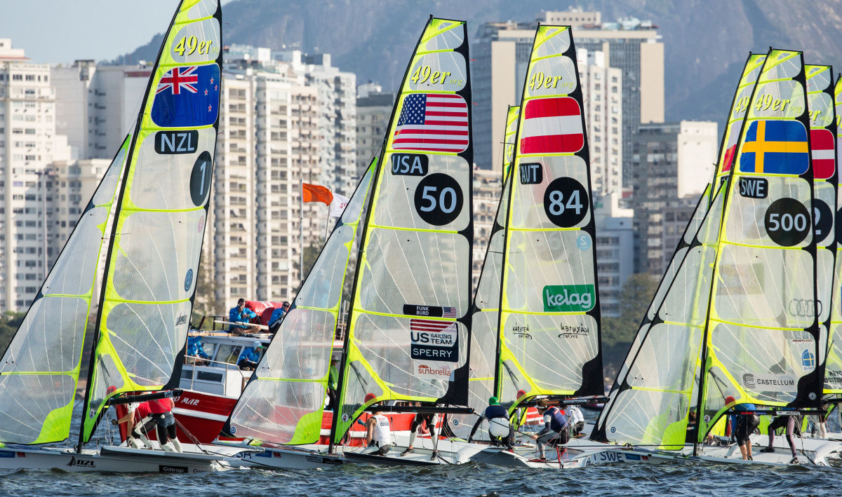 Another key aspect of the U.S. team's approach to the Rio Olympics has been to spend as much time racing and training in Guanabara Bay as possible