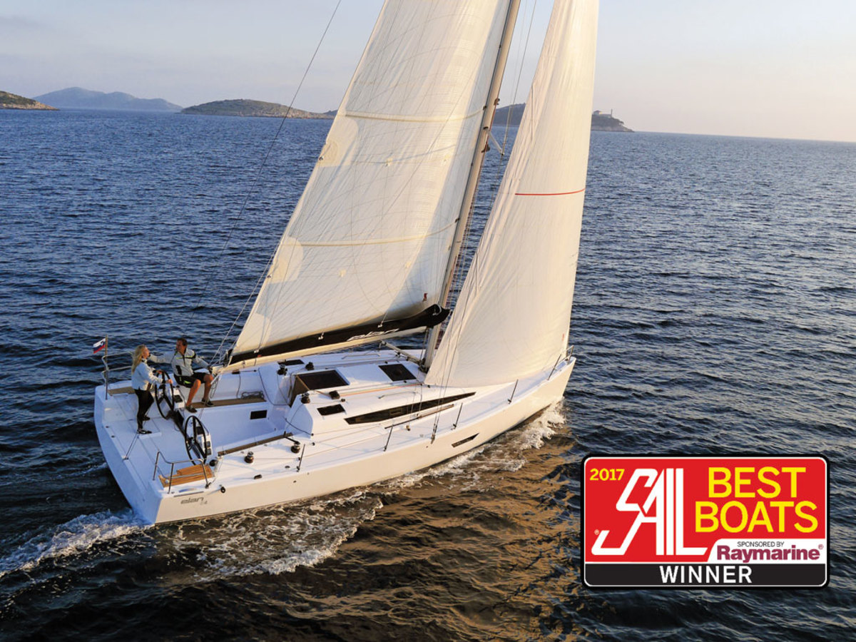 Elan E4: Best Monohull Cruising Boat 30 to 40ft