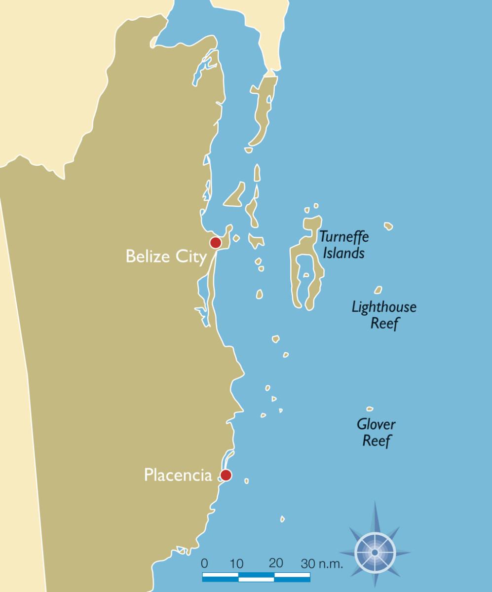 BelizeMap