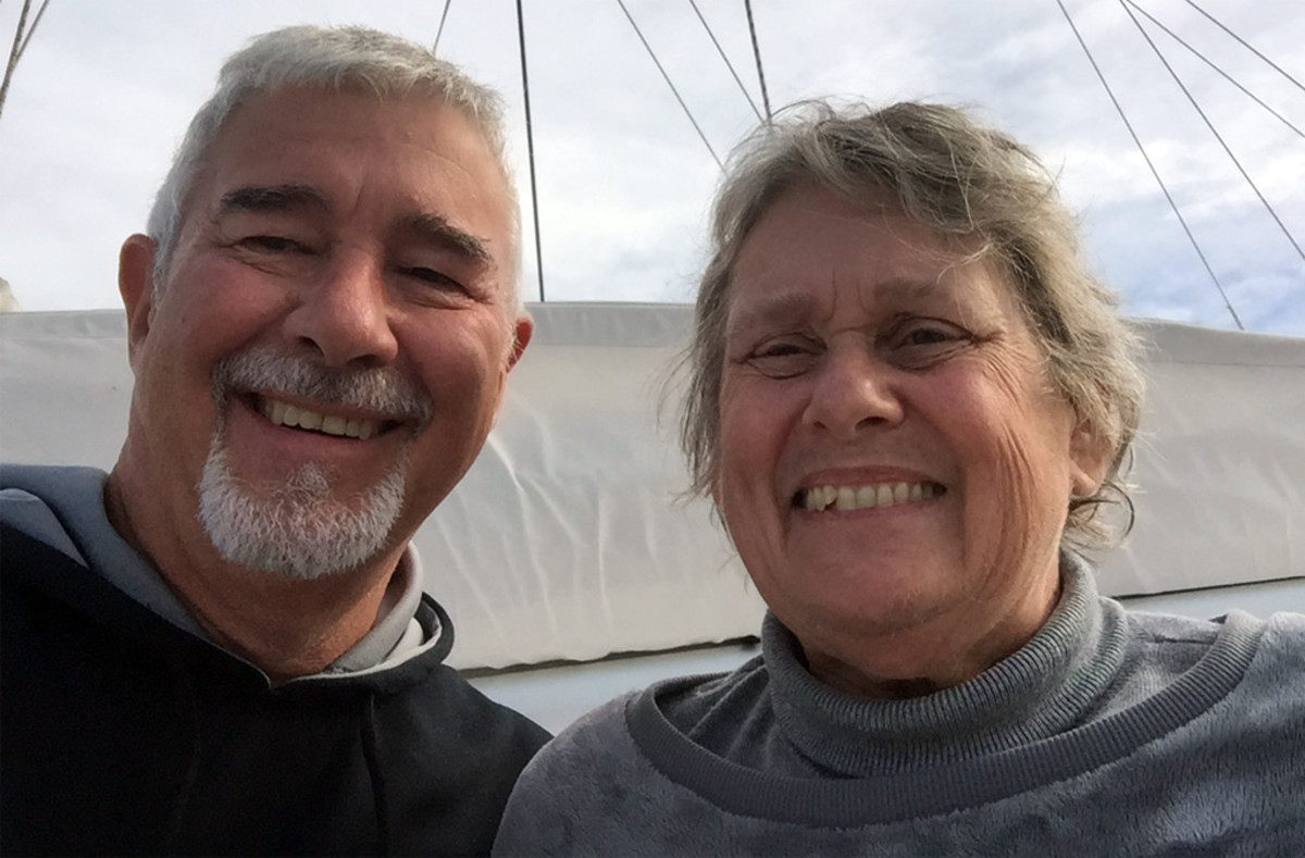 Jere and Kathy Lahey are enjoying their new life
