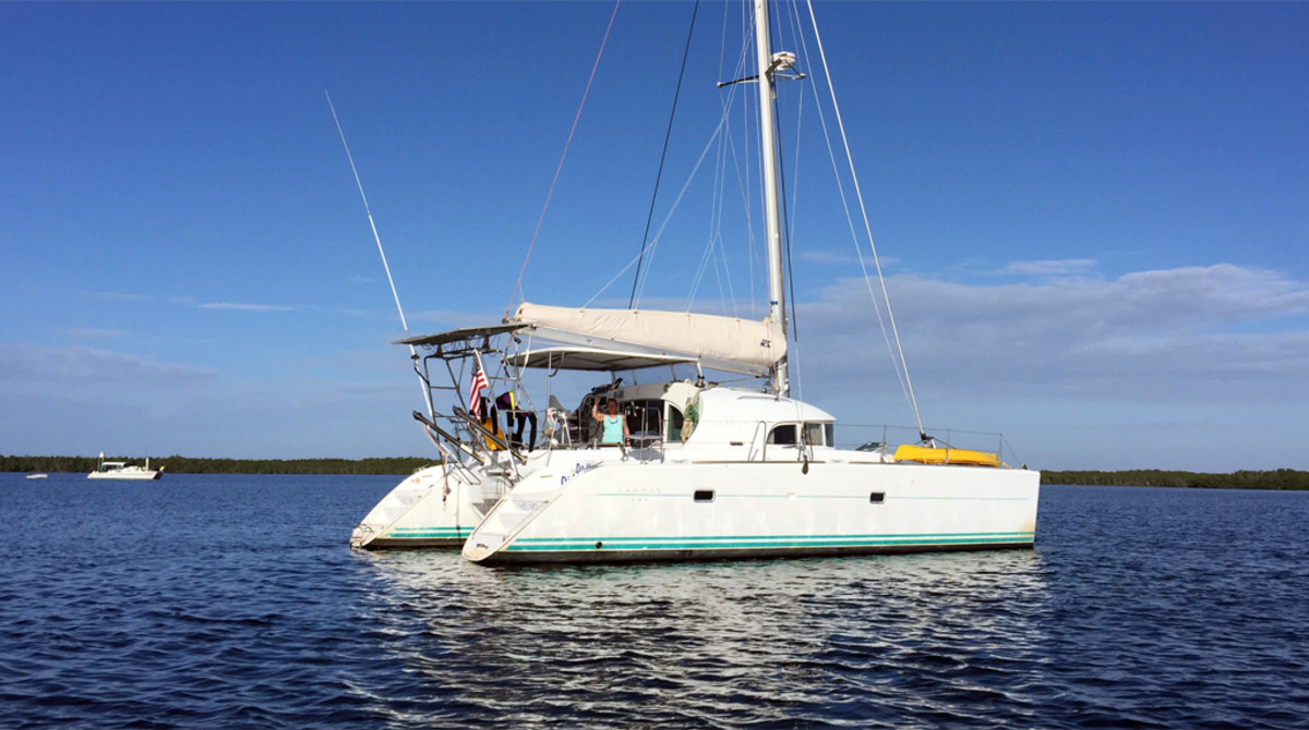The Lagoon 380 is a popular choice for cruisers