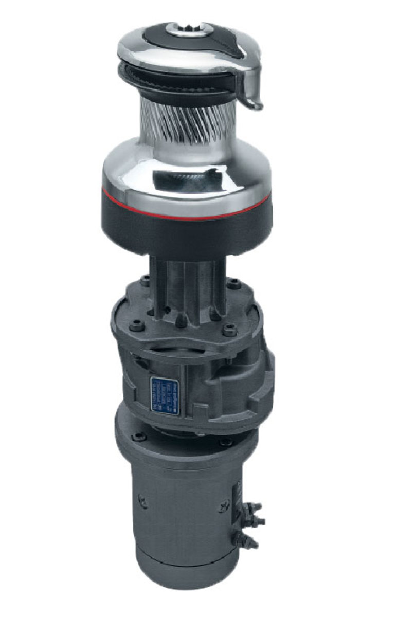 Harken's new Radial winches feature a stationary top that prevents fingers or clothing from being ingested