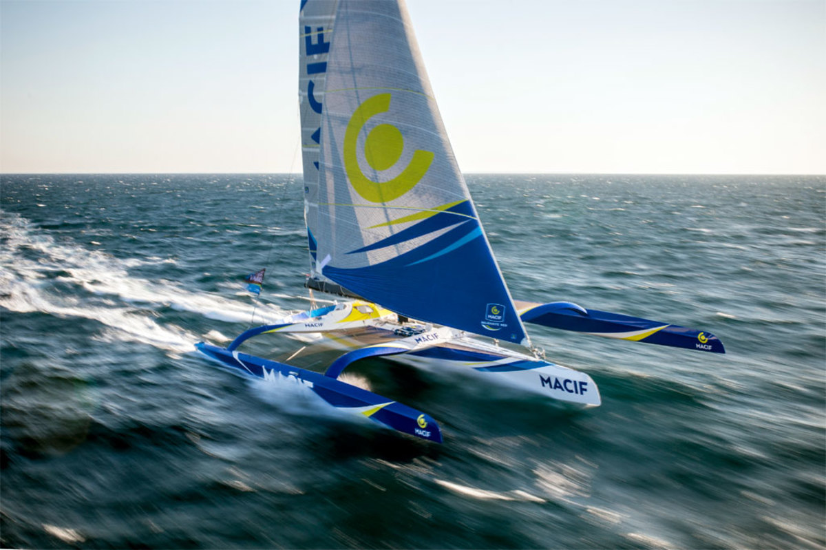 MACIF is the latest of the new breed of max-trimarans