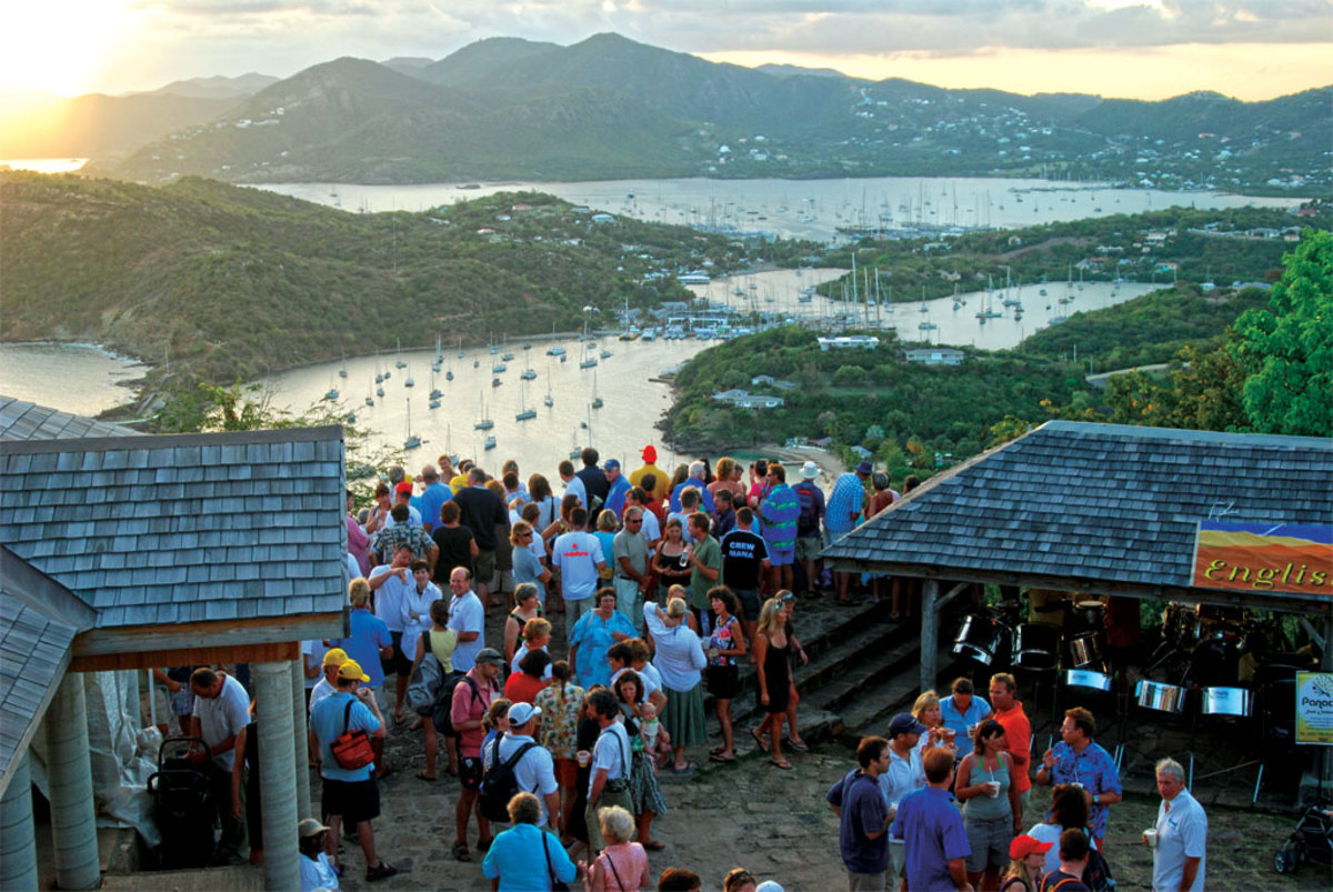 Come for the parties and stay for the pink sand beaches and sunsets of Antigua