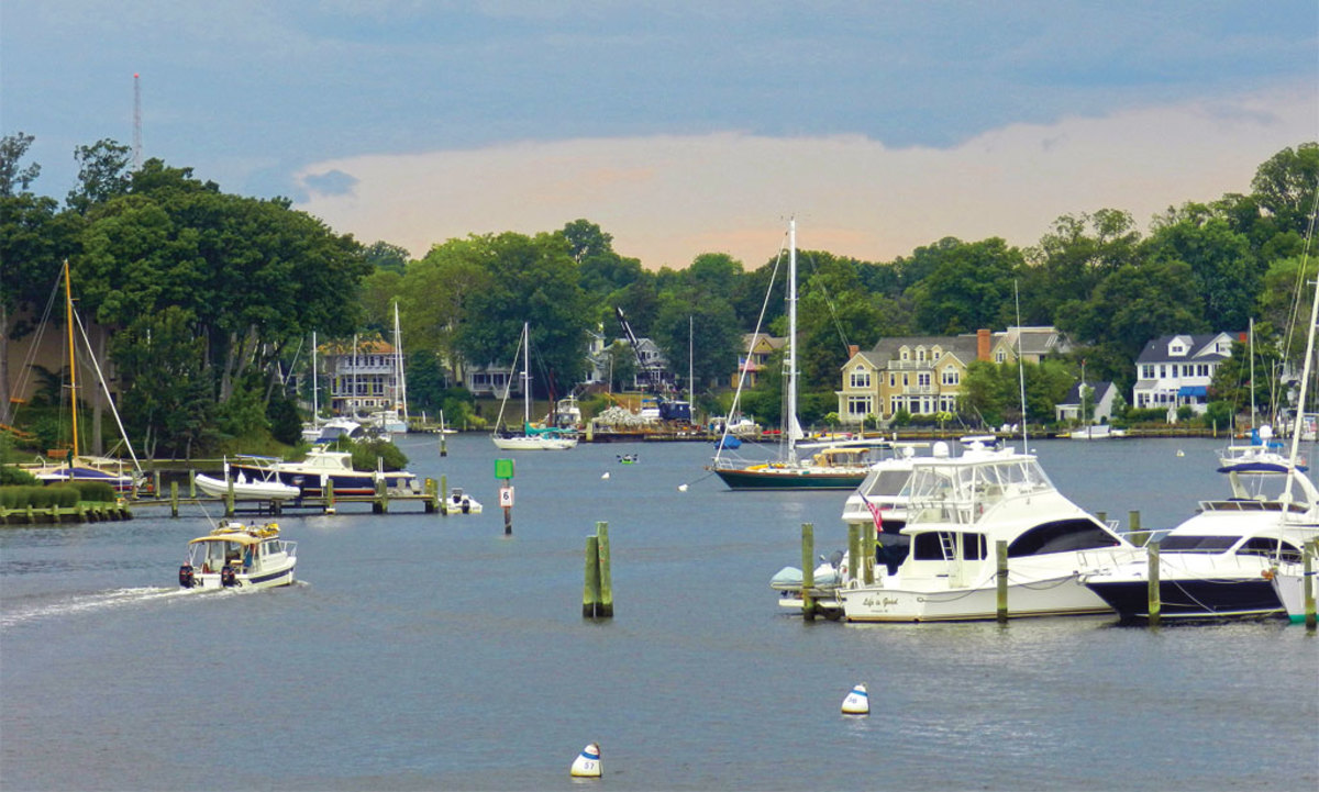 America's largest estuary gets busy in the short summer season