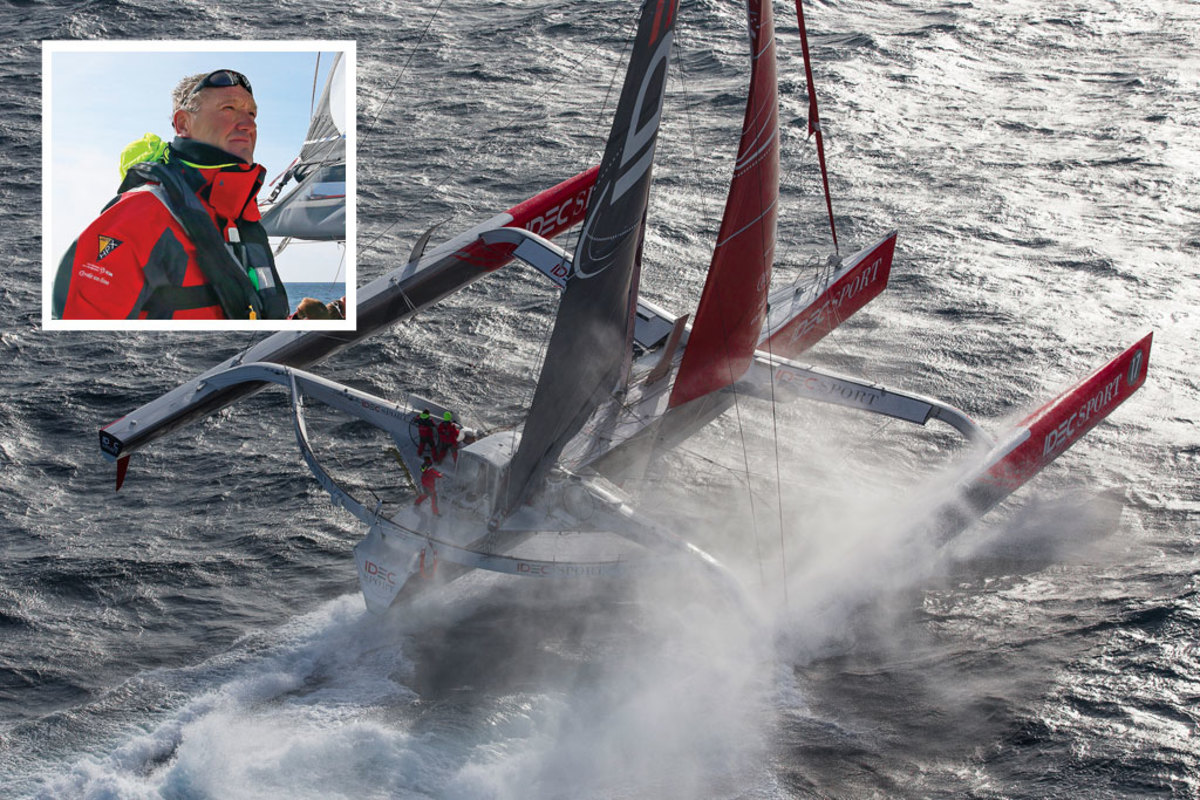 Francis Joyon has sailed IDEC to numerous world records
