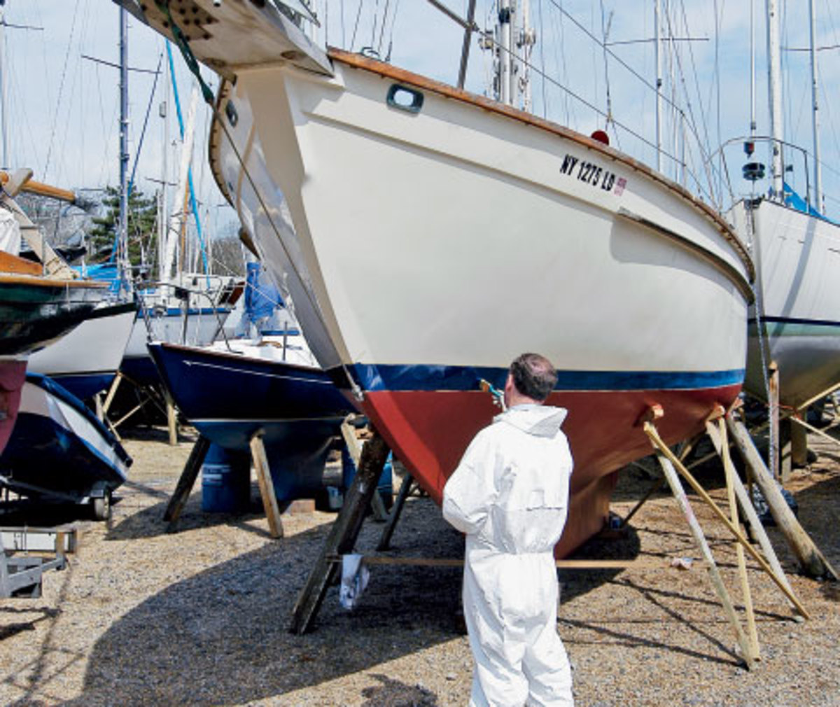 If the yard is painting your boat for you, it's best to specify a paint they use often