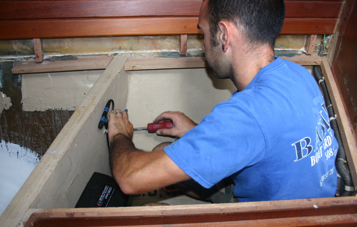 installing controller bow thrusters retrofitted to older boats sail magazine Wesmar Bow Thruster Schematics at nearapp.co
