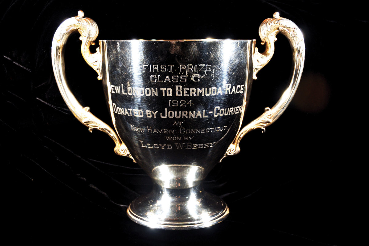 The trophy won by the Lloyd W. Berry