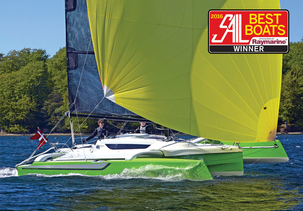 Dragonfly 25: Folding Trimaran for Small-boat Cruisers - Sail Magazine
