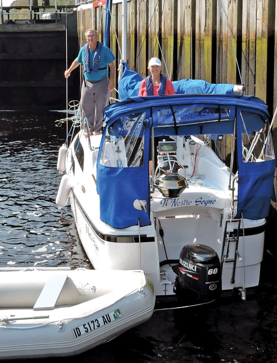 Kirk Nilles and Melba Covert have sailed and trailered their McGregor 26 all over