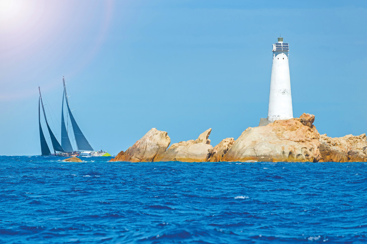 You'll find sublime sailing in Sardinia.