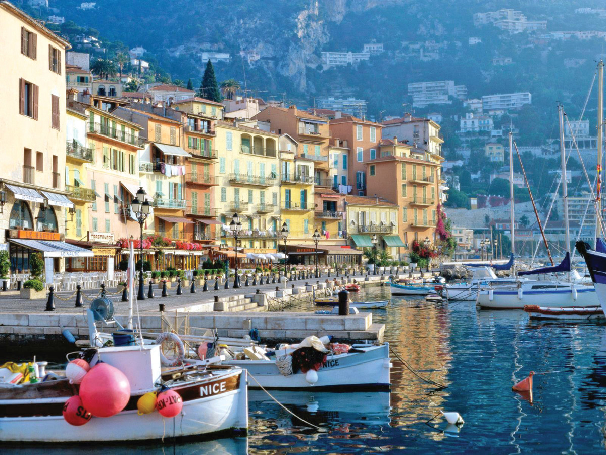 Crowded in high season, France's Côte d'Azur is at its best in early and late summer.