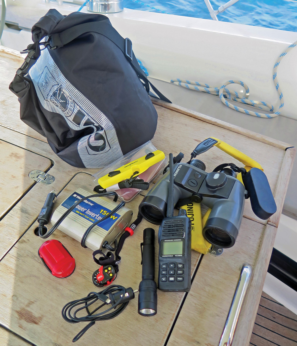 A good kit for a bareboat charter. Photo by Peter Nielsen
