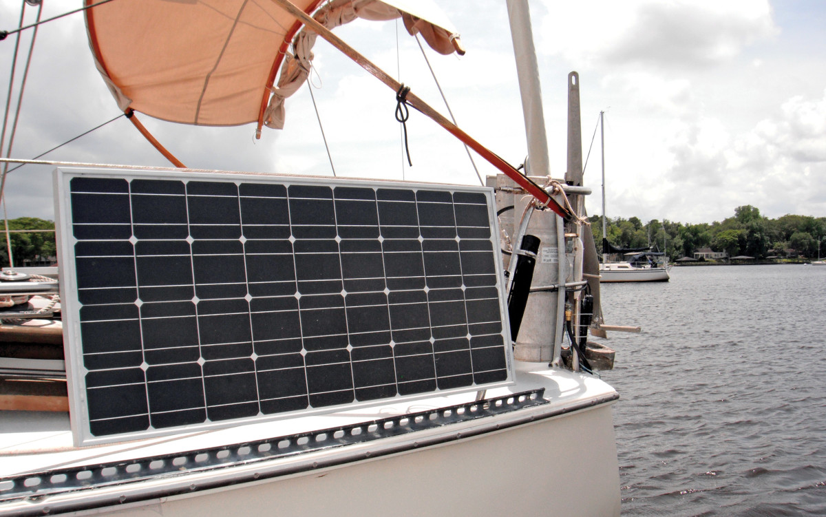 Mounting Solar Panels On A Small Boat Sail Magazine
