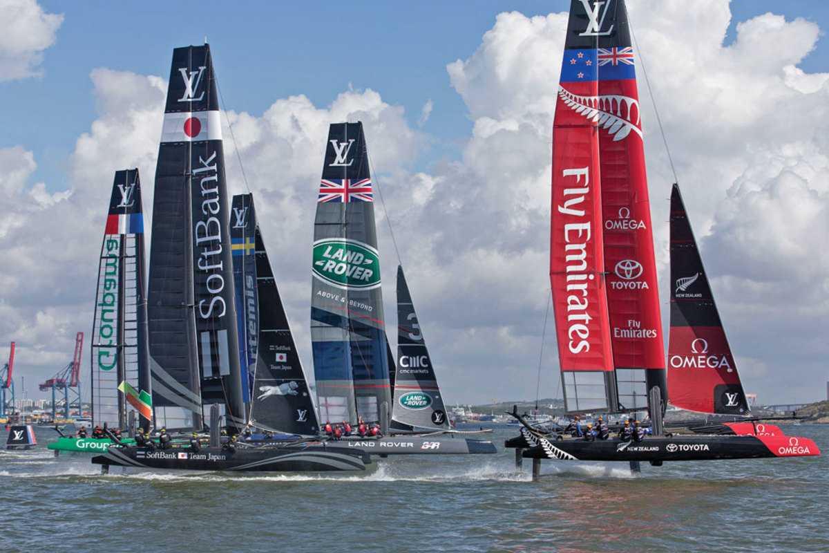 America's Cup racing has changed a lot since its original New York days
