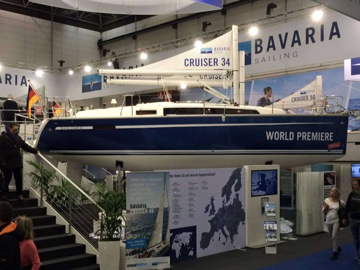 Bavaria's new 34-footer.