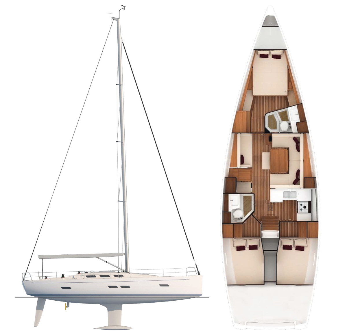italia-sailplan